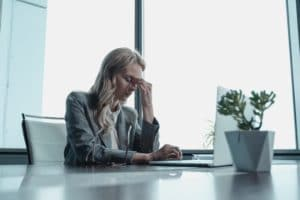 How do you deal with stressful sales targets?